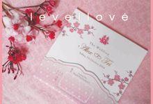Simple Beautiful 'Sakura' by Levellove Card