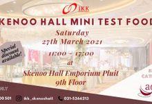 Open Test Food Skenoo Hall by IKK Wedding Venue