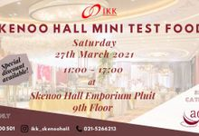 Open Test Food Skenoo Hall by Skenoo Hall Emporium Pluit by IKK Wedding