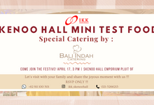 Skenoo Hall Mini Test  Food Special by Bali Indah Catering by  Menara Mandiri by IKK Wedding (ex. Plaza Bapindo)