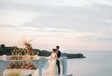 Wedding Reception Night for Bryan & Xyrelle by Vilia Wedding Planner
