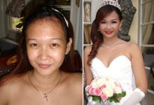 before - after by claresta bridal
