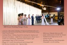 Wedding Hanger Party by RedCarpet Bridal Artistry