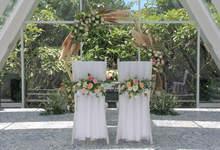 The Wedding of Billy & Tabitha by Dona Wedding Decoration & Planner
