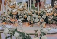 The Wedding of Michael & Nio Kiki by Dona Wedding Decoration & Planner