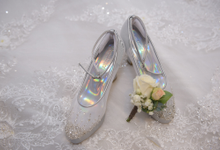 Custom Wedding Shoes by Donamici