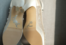 Custome wedding shoes by Donamici