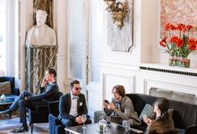 Private mansion luxury wedding in Paris by Dorothée Le Goater Events