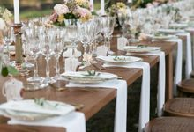 Al Fresco Wedding in the garden of a french castle by Dorothée Le Goater Events