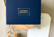 Mathew & Monica by Dot & Line Designs