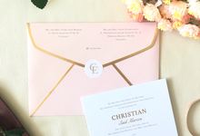 Christian & Evelyn by Dot & Line Designs