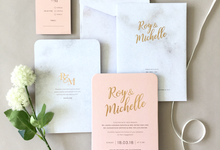Roy & Michelle by Dot & Line Designs