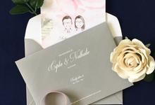 Cipta & Nathalie by Dot & Line Designs