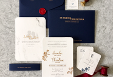 Ivander & Christina by Dot & Line Designs