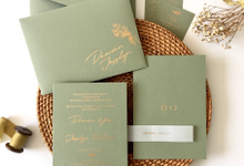 Damian & Jesslyn by Dot & Line Designs