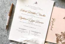 Robert & Stephanie by Dot & Line Designs