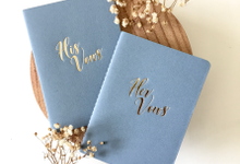 Vow Books by Dot & Line Designs