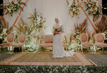Irma & Alvi Wedding Reception  by Double You Wedding