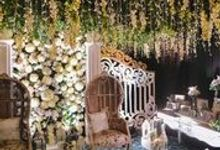 William & Athalia Wedding by arlota the organizer