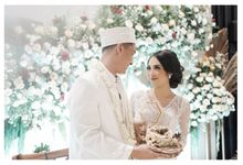 The Wedding of  Aisyah & Eky by Amorphoto