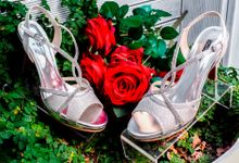Dreamy Comfy Wedding shoes by Studio Nine Wedding Shoes