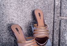 Wedding Sandal Wedges by Studio Nine Wedding Shoes