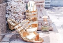 GOLD Wedding Shoes by Studio Nine Wedding Shoes