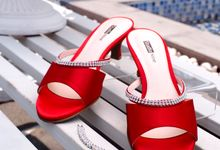 HOT IN RED by Studio Nine Wedding Shoes