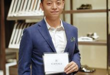 MC for Canali Store Launching at Plaza Indonesia by Demas Ryan & Lasting Moments Entertainment