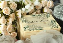 Customized Wedding Ring Box by Roopa