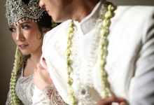Dana & Brena Wedding by Akuwedding