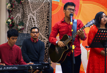 Magical Acoustic and Gu Zheng for UOB Dinner CNY by Dream Art Musical