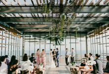 Alila Villas Uluwatu - Wedding of Kee Eun and Min by Alila Villas Uluwatu