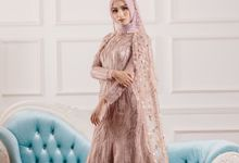 Laksmi New Collection Photoshoot Dress Dusty Pink Rainy by LAKSMI - Kebaya Muslimah & Islamic Bride