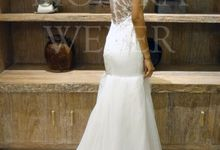 Dress - White by MONIKA WEBER Home of Fashion