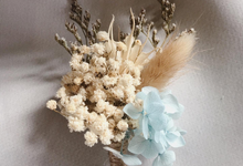 Boutonniere & Corsage by Dried Flower Studio
