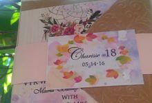 18th Birthday - Bohemian Theme by Meris Ashley Invites