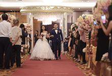 The Wedding of Darwin & Santi by Huemince