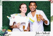 Julia & Sidhaesh - Wedding Photo Booth by Cloud Booth