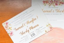 Peachish Samuel & Sherly by Bubble Cards
