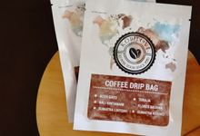 COFFEE DRIP BAG SOUVENIR by Jollene Gifts