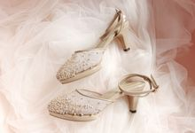 Yunita's wedding shoes by Marry Me Bridal Shoes