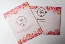 Red Rustic Yuri & Ricka by Bubble Cards