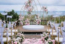 The Wedding of Ethan & Lucy by Bali Wedding Atelier