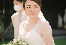 The Wedding of Hardi and Fanny by Kate Bridal and Couture