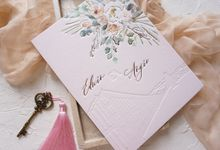 Bridge of Love by Trouvaille Invitation