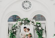 Tropical Wedding - Chintya & Glen by ELNATH