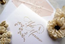 Romantic Floral by Trouvaille Invitation