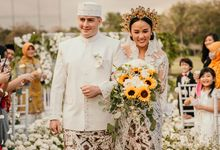 ALUNA AND CRISTOPHER WEDDING by Glow Wedding & Event Planner