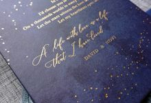 Starry Night by Trouvaille Invitation